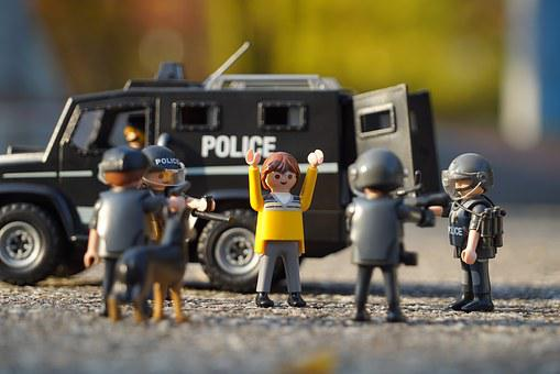 Police, Playmobil, Suppressors, Swat, Hoo, The Arrest