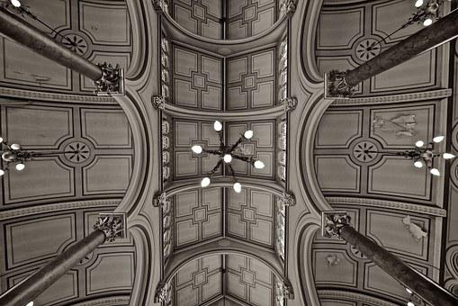 Synagogue, Ceiling, Brighton, Church, Jewish, Religion