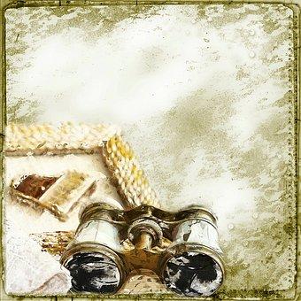 Background, Steampunk, Binoculars, Magnify, Tool