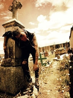 Zombie, Death, Cementary, Halloween, Horror, Evil, Fear