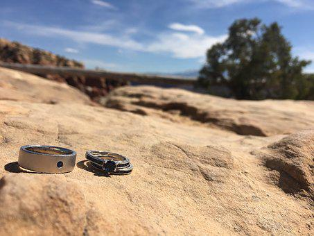 Rings, Marriage, Desert, Engagement, Wedding, Proposal