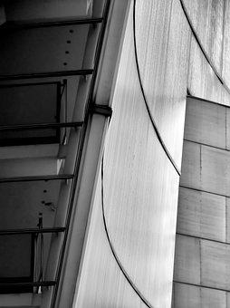 Building, Wall, Shape, Curved, Helsinki, Finnish