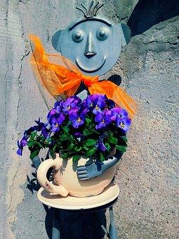 Flower, Flowers, Pansies, Plant, Flower Home
