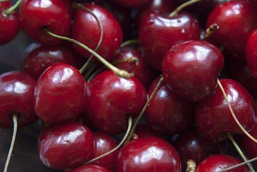 Cherries, Fruit, Vegan, Food, Berry, Fresh, Organic