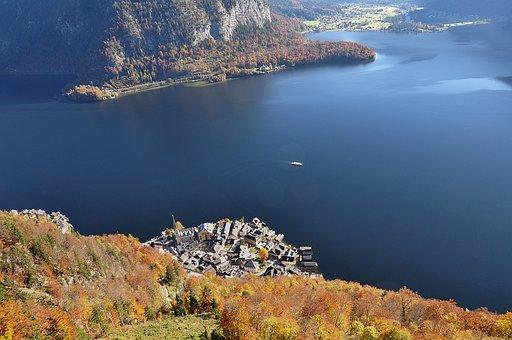 Hallstatt, Hallstatt From Above, Hallstättersee Lake