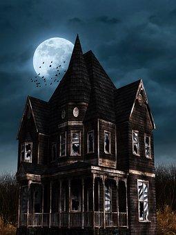 Halloween, Bates Hotel, Gruslehaus, Horror, Creepy