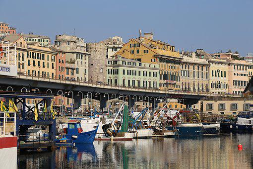 Port, Genoa, Italy