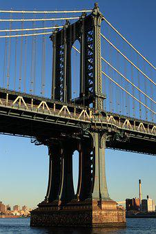 Bridge, New York, Manhattan, Brooklyn, Manhattan Bridge
