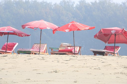 Cox's Bazar, Relaxing Chair, Sand, Nice Weather, Relax