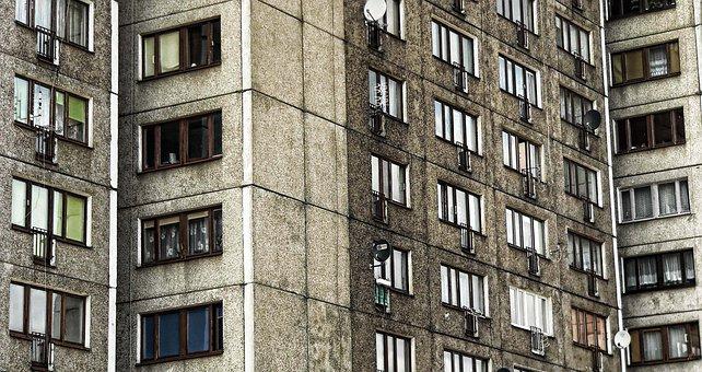 Block, The Window, Apartment Life, Façades, Wall, Glass