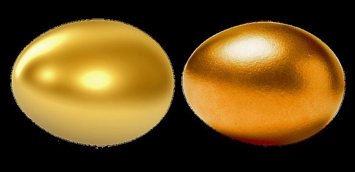 Egg, Golden Egg, Gold, Red Gold, White Gold