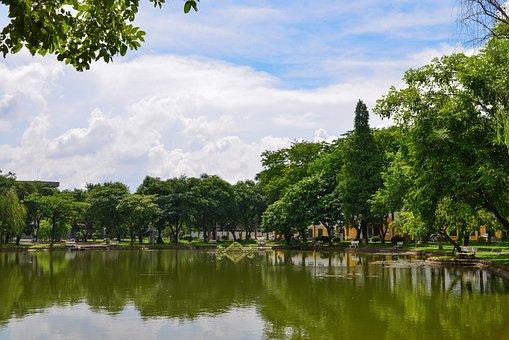 Vietnam, Agricultural, University, Lake