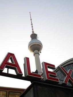Tv Tower, Alex, Alexanderplatz, Berlin