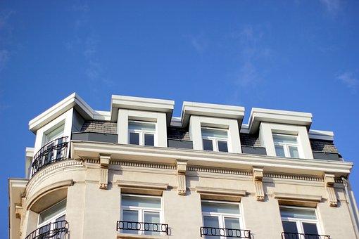 Blue Sky, Architecture, Heritage, Building Facade