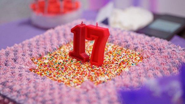 Birthday, Cake, Seventeen