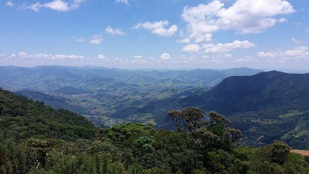 Vista, Panorama, Mountain, Brazil, Campos Do Jordão