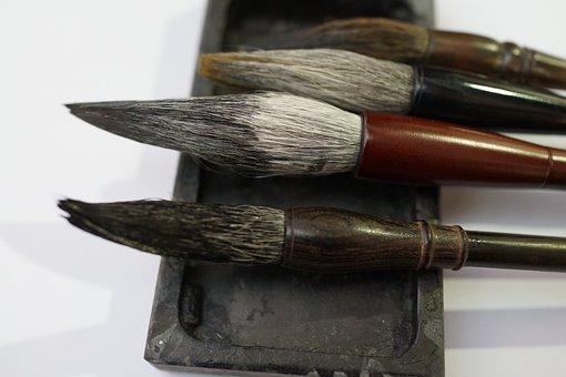 Chinese Calligraphy Brushes, Aesthetic