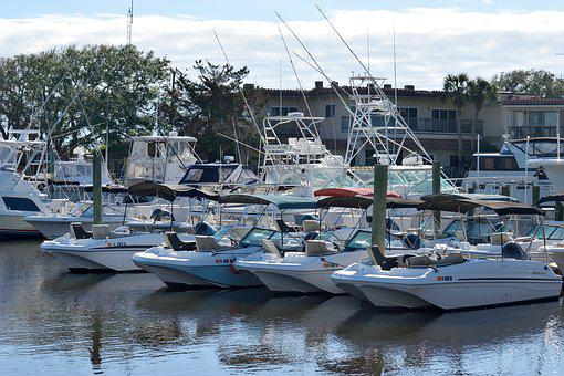 Boat Marina, Yachts, Luxury, Marina, Moored, Dock