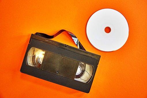 Vhs, Dvd, Videokasette, Orange