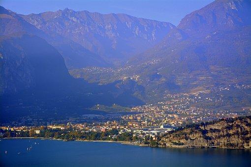 Lake, Garda, Riva Del Garda, Landscape, Mountains