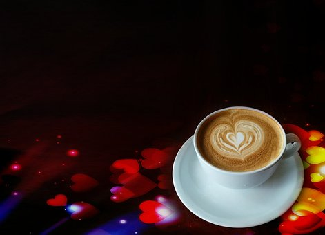 Coffee, Cup, Coffee Cup, Cafe, Drink, Heart, White