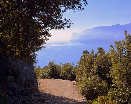 Trail, Landscape, Lake, Excursion, Forest, Mountain