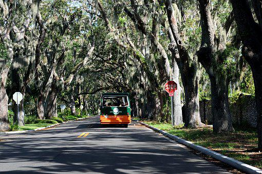 Historic, Magnolia Ave, St, Augustine, Florida