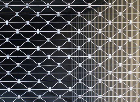 Rolling Grilles, Garage, Metal, Pattern, Abstract