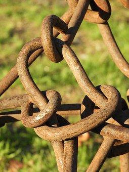 Links, Chain, Rusty, Metal, Chainlink, Steel, Iron
