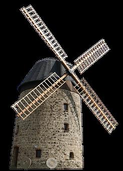 Windmill, Mill, Wing, Wind, Wind Power, Old