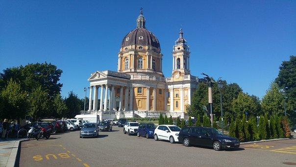 Torino, Superga, Basilica, Filippo Juvarra, Monuments