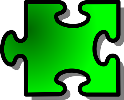 Jigsaw, Green, Shape, Puzzle, Game, Problem, Fit, Part