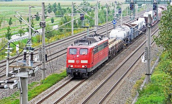 Railway, Oberrhein Track, Viergleisig, Appenweier