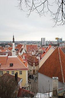Tallinn, Roof, Red