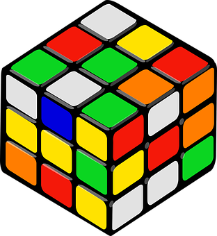 Rubik's Cube, Cube, Puzzle, Game, Rubik, Colors