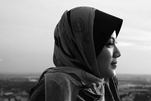 Sillluethe, Women, Hijab, Scenery, Traditional, Muslim