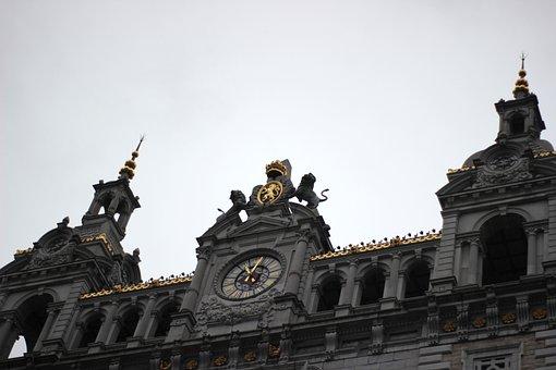 Grey Sky, Architecture, Tourist Town, Urban, Station