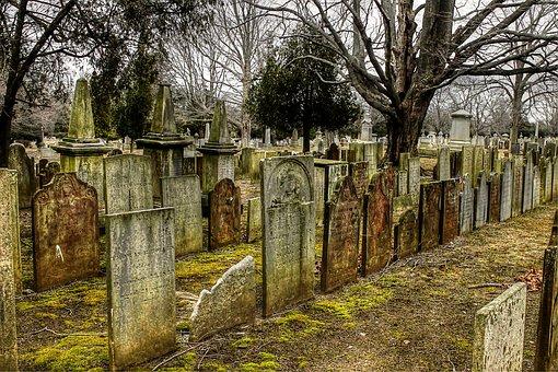 Cemetery, Tombstones, Graves, Graveyard, Stone, Tombs