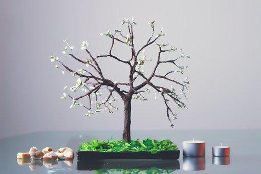 Tree, Decoration, Glass, Art, Shiny, Creative, Hobbies