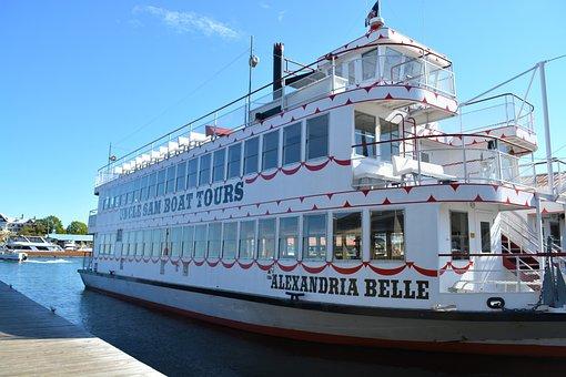 Boldt, Castle, Uncle, Sam, Boat, Tours