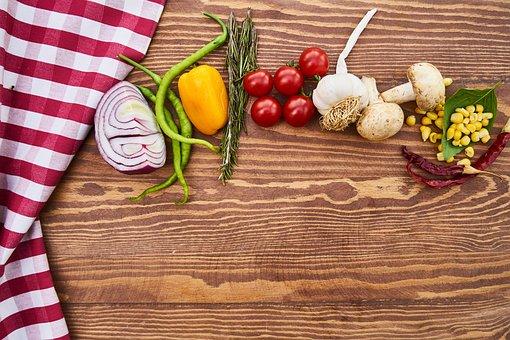 Vegetables, Vegetable, Onion, Pepper, Mushroom, Tomato