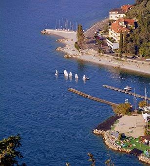 Vela, Lake, Garda, Torbole, Water, Costa, Boat