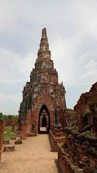 Wat Chai Wattanaram, Ayutthaya, Archaeological Site