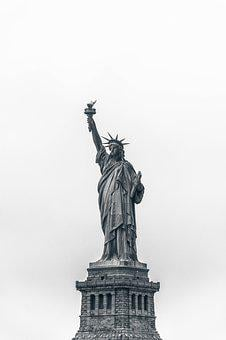 America, Bartholdi, City, France, French, Gustave