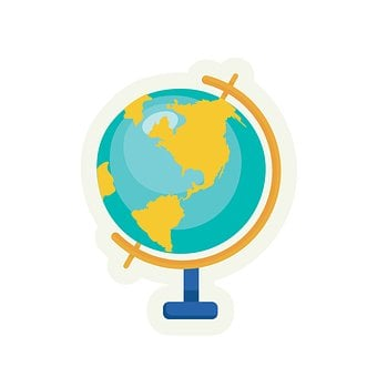 The World, Orb, Geographic, Clip Art, Clipart, Cute
