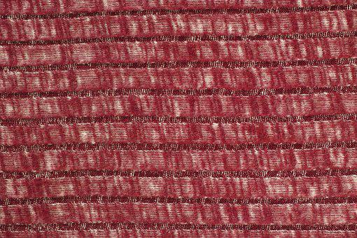 Red, Fabric, Wool, Yarn, Kazakh, Cardigan, Weaving