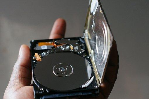 Computer, Hard Disk, Hard Drive, Technology