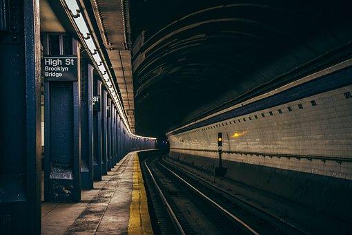 Subway, Underground, City, Manhattan, Metro, Commute
