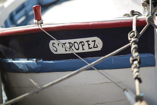 St Tropez, Old Boat, Sailing Boat, Historic Center