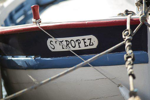 St Tropez, Old Boat, Sailing Boat, Old Town, Summer